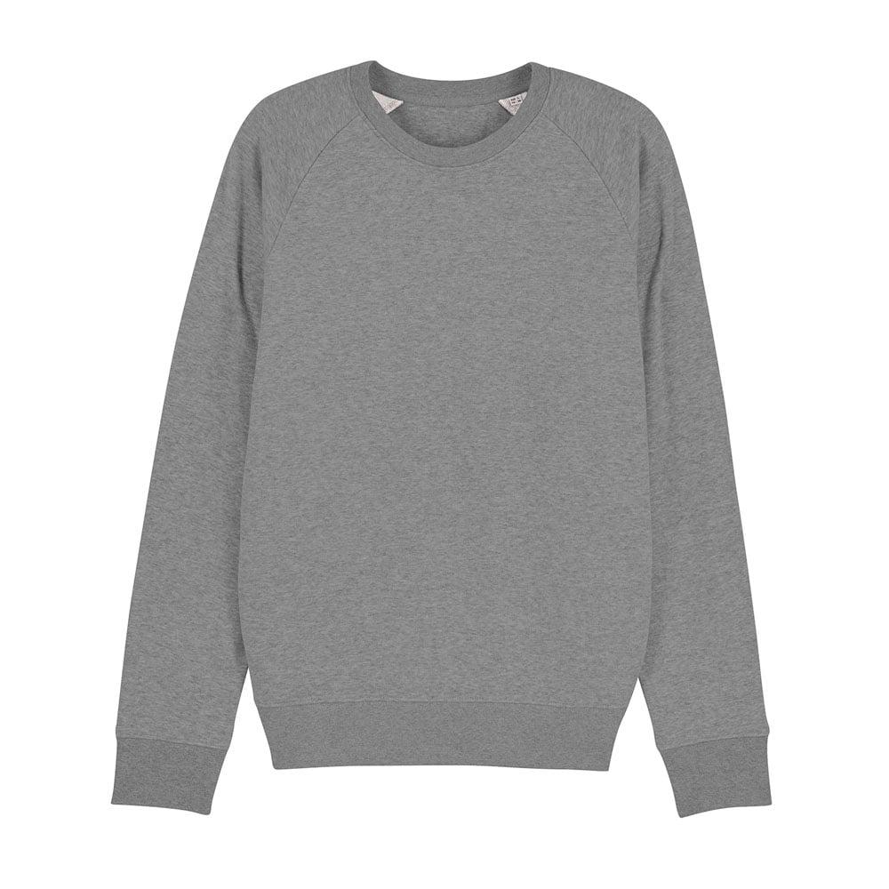 Bluzy - Męska Bluza Stanley Stroller - STSM567 - Mid Heather Grey - RAVEN - koszulki reklamowe z nadrukiem, odzież reklamowa i gastronomiczna