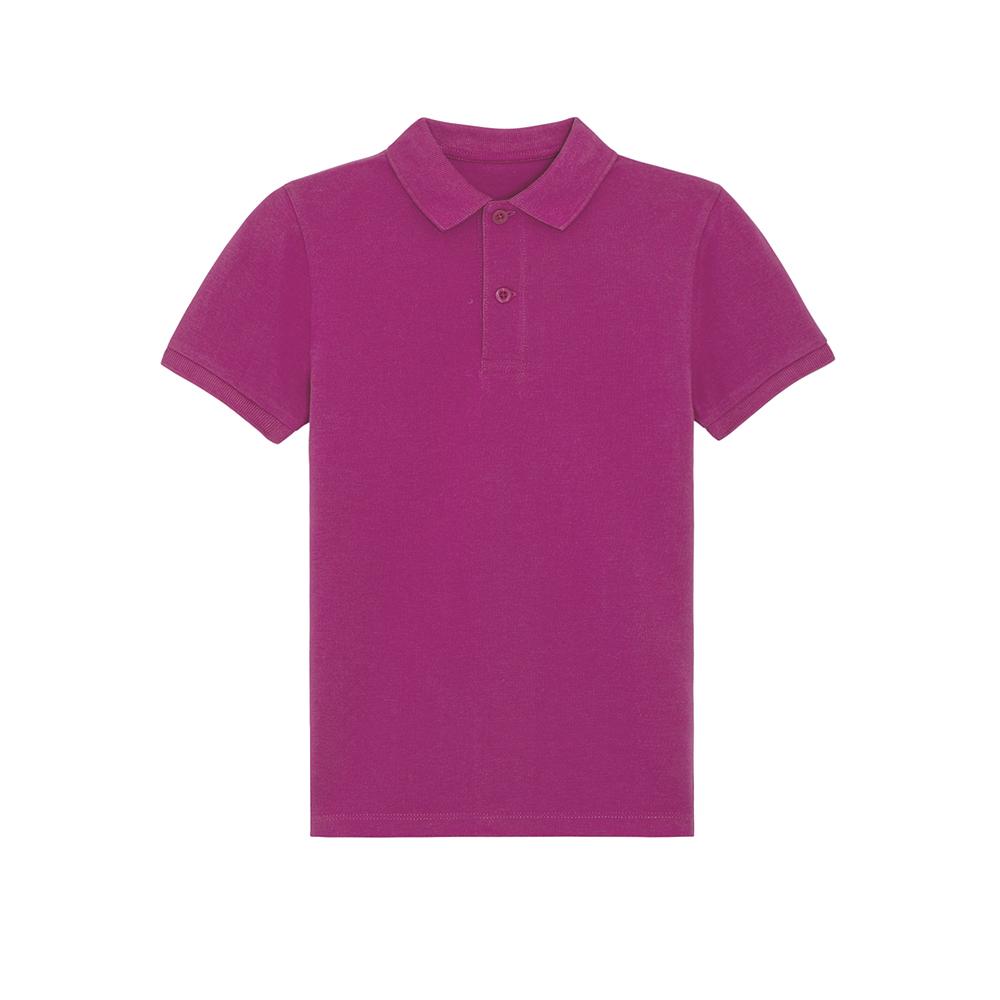 Odzież dziecięca - Polo shirt Mini Sprinter - STPK908 - Orchid Flower - RAVEN - koszulki reklamowe z nadrukiem, odzież reklamowa i gastronomiczna