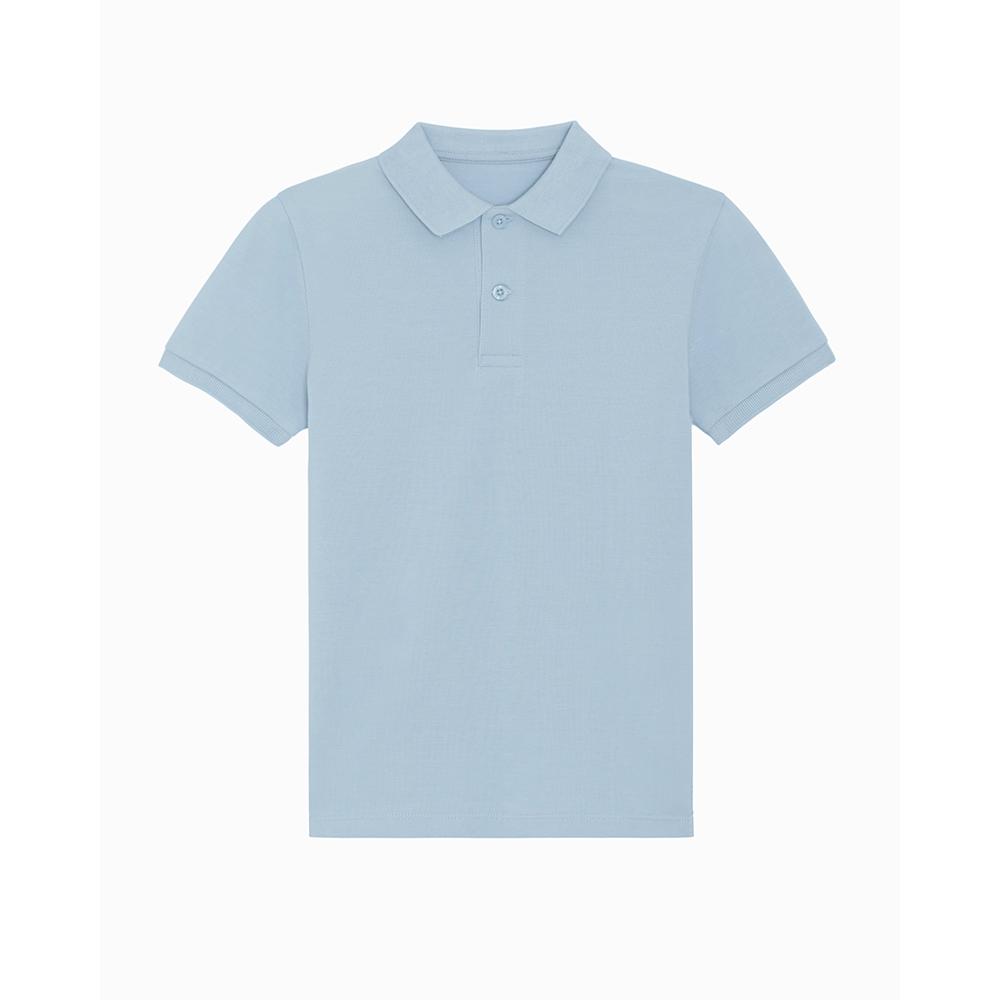 Odzież dziecięca - Polo shirt Mini Sprinter - STPK908 - Sky Blue - RAVEN - koszulki reklamowe z nadrukiem, odzież reklamowa i gastronomiczna