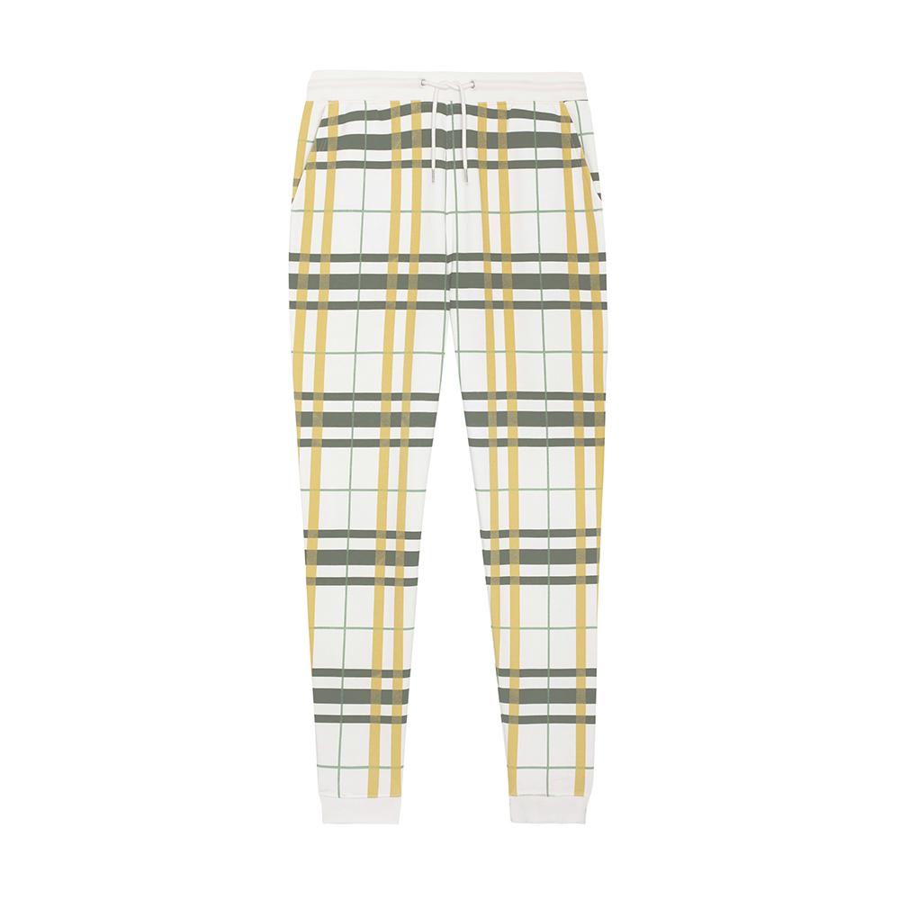 Spodnie - Męskie spodnie Stanley Mover AOP - STBM570 - Check Jojoba - RAVEN - koszulki reklamowe z nadrukiem, odzież reklamowa i gastronomiczna