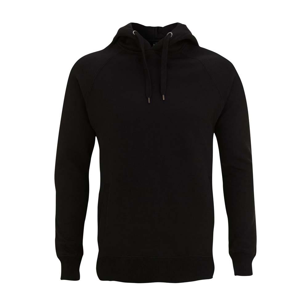 Bluzy - Bluza Unisex Pullover z Kieszeniami N50P - BL - Black - RAVEN - koszulki reklamowe z nadrukiem, odzież reklamowa i gastronomiczna