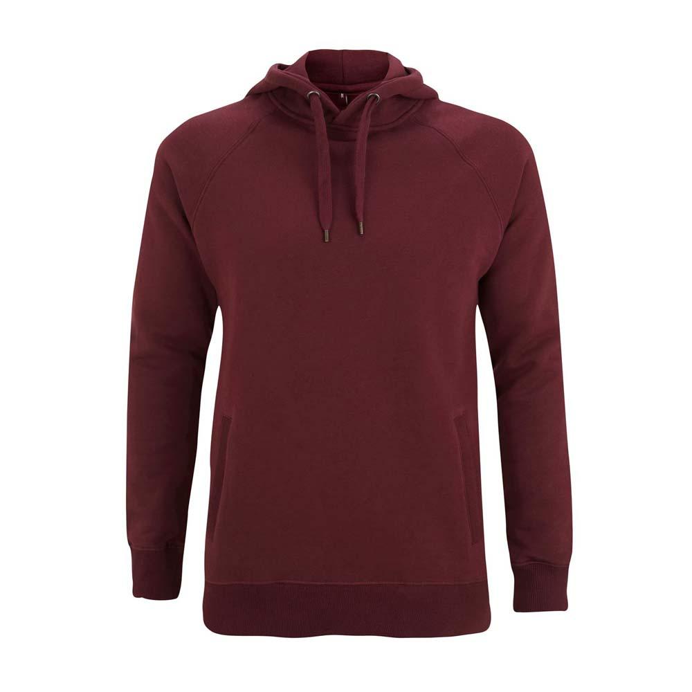 Bluzy - Bluza Unisex Pullover z Kieszeniami N50P - CT - Claret Red - RAVEN - koszulki reklamowe z nadrukiem, odzież reklamowa i gastronomiczna