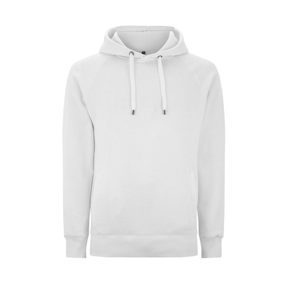 Bluzy - Bluza Unisex Pullover z Kieszeniami N50P - WH - White - RAVEN - koszulki reklamowe z nadrukiem, odzież reklamowa i gastronomiczna