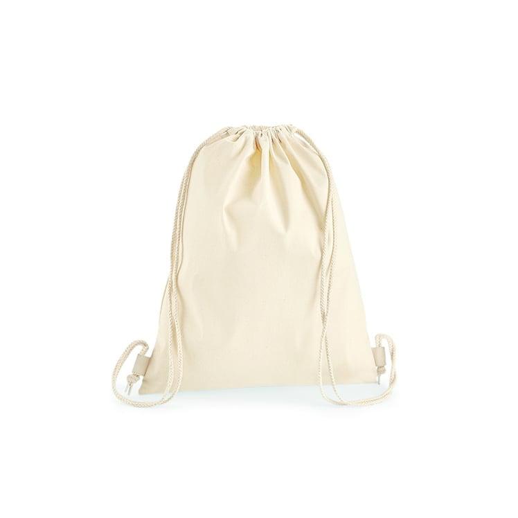 Torby i plecaki - Premium Cotton Gymsac - W210 - Natural - RAVEN - koszulki reklamowe z nadrukiem, odzież reklamowa i gastronomiczna