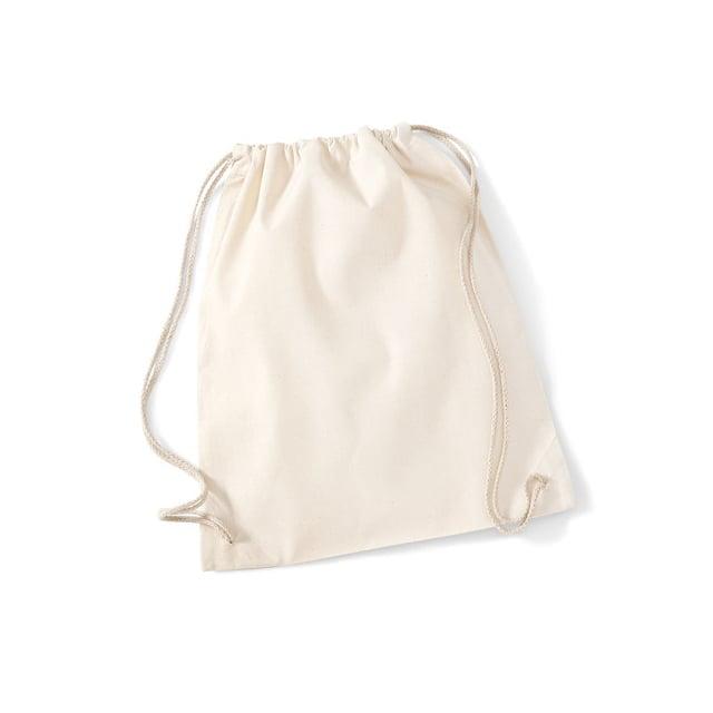 Torby i plecaki - Worek festiwalowy Cotton Gym - W110 - Natural - RAVEN - koszulki reklamowe z nadrukiem, odzież reklamowa i gastronomiczna