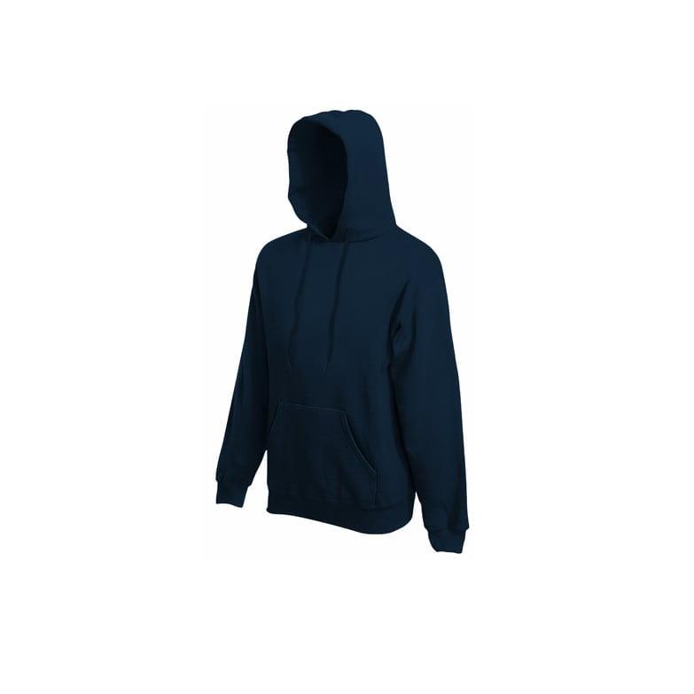 Bluzy - Bluza Premium Hooded - Fruit of the Loom 62-152-0 - Deep Navy - RAVEN - koszulki reklamowe z nadrukiem, odzież reklamowa i gastronomiczna