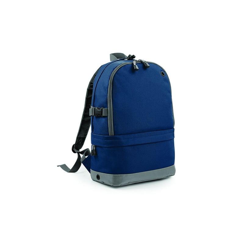 Torby i plecaki - Athleisure Pro Backpack - BG550 - Navy - RAVEN - koszulki reklamowe z nadrukiem, odzież reklamowa i gastronomiczna