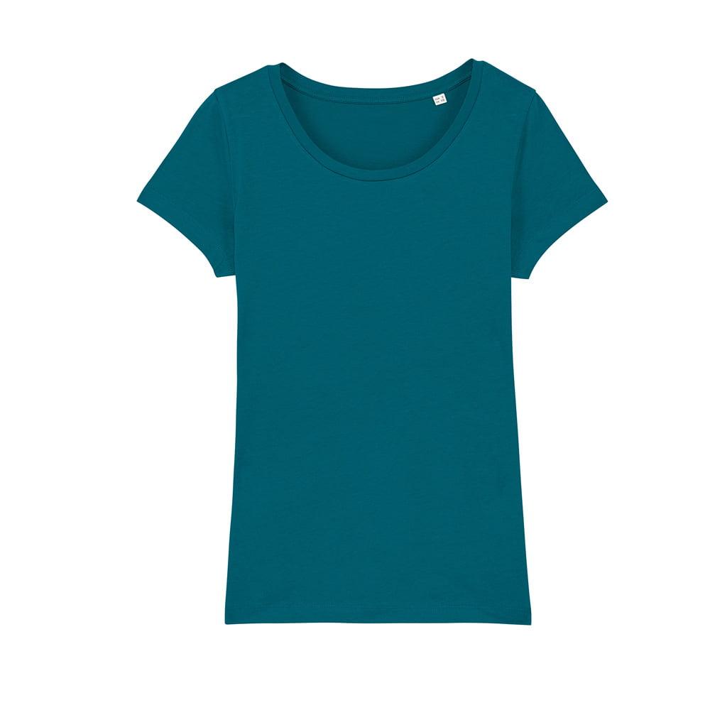 Koszulki T-Shirt - Damski T-shirt Stella Lover - STTW017 - Ocean Depth - RAVEN - koszulki reklamowe z nadrukiem, odzież reklamowa i gastronomiczna