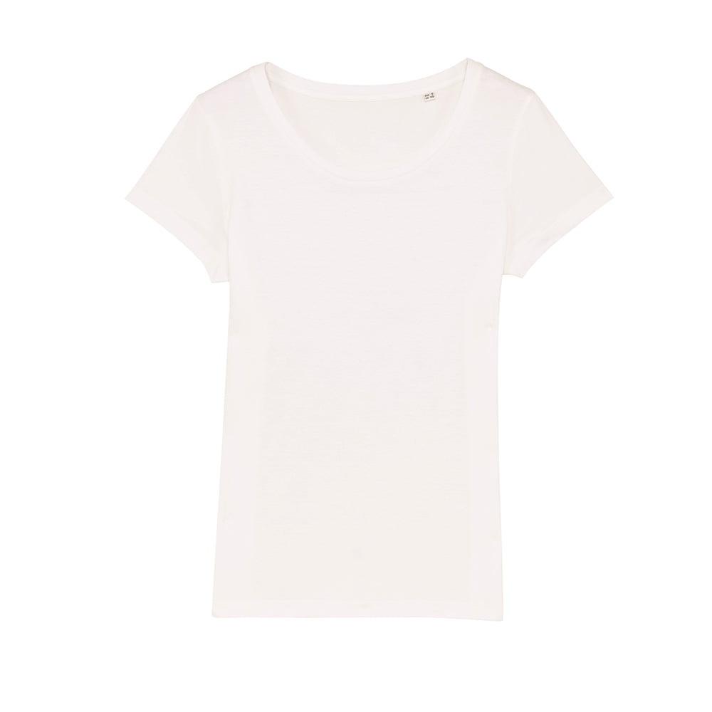 Koszulki T-Shirt - Damski T-shirt Stella Lover - STTW017 - Off White - RAVEN - koszulki reklamowe z nadrukiem, odzież reklamowa i gastronomiczna