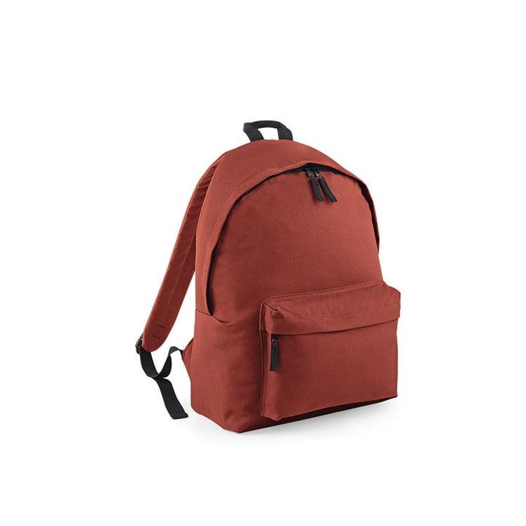 Torby i plecaki - Original Fashion Backpack - BG125 - Orange Rust - RAVEN - koszulki reklamowe z nadrukiem, odzież reklamowa i gastronomiczna