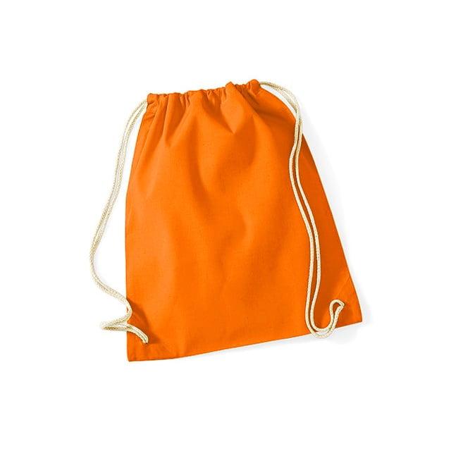 Torby i plecaki - Worek festiwalowy Cotton Gym - W110 - Orange - RAVEN - koszulki reklamowe z nadrukiem, odzież reklamowa i gastronomiczna