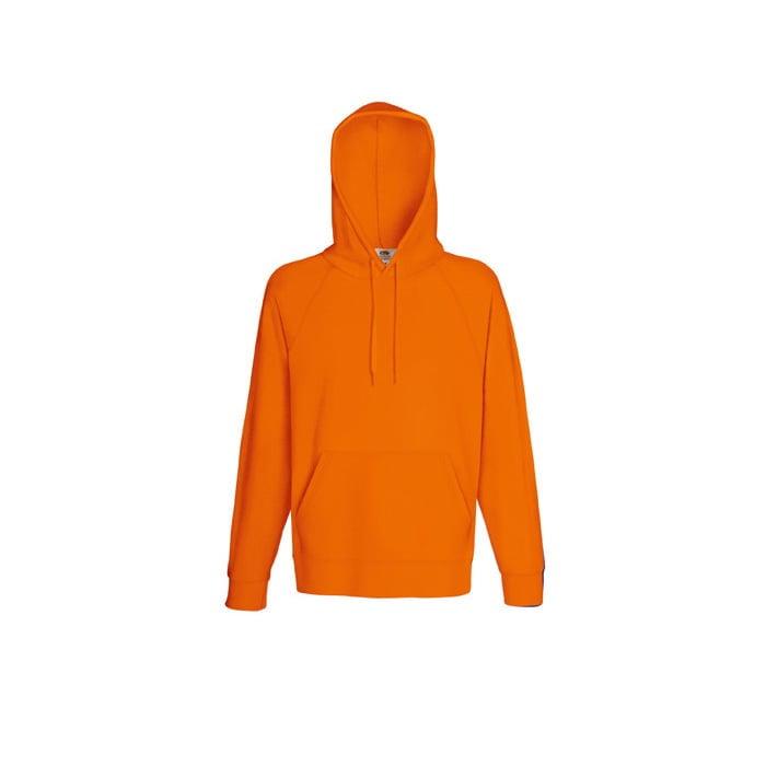 Bluzy - Bluza z kapturem Lightweight - Fruit of the Loom 62-140-0 - Orange - RAVEN - koszulki reklamowe z nadrukiem, odzież reklamowa i gastronomiczna