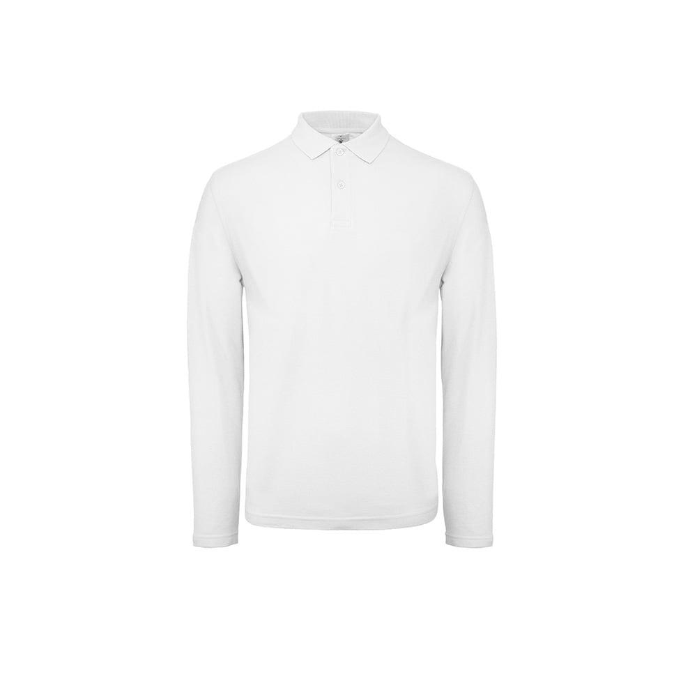 Męska koszulka polo z długim rękawem ID.001