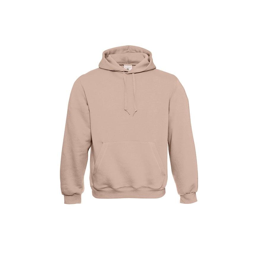 Bluzy - Klasyczna bluza Hooded - B&C WU620 - Millennial Pink - RAVEN - koszulki reklamowe z nadrukiem, odzież reklamowa i gastronomiczna