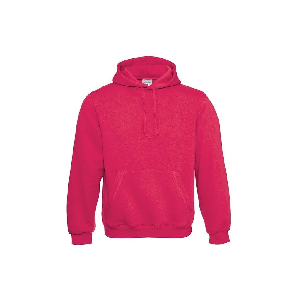 Bluzy - Klasyczna bluza Hooded - B&C WU620 - Sorbet - RAVEN - koszulki reklamowe z nadrukiem, odzież reklamowa i gastronomiczna