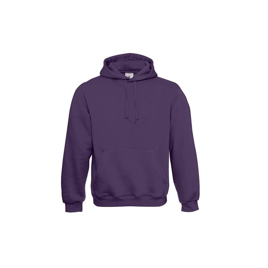 Bluzy - Klasyczna bluza Hooded - B&C WU620 - Urban Purple - RAVEN - koszulki reklamowe z nadrukiem, odzież reklamowa i gastronomiczna