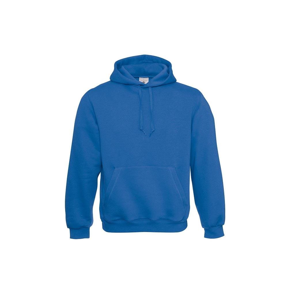 Bluzy - Klasyczna bluza Hooded - B&C WU620 - Royal Blue - RAVEN - koszulki reklamowe z nadrukiem, odzież reklamowa i gastronomiczna