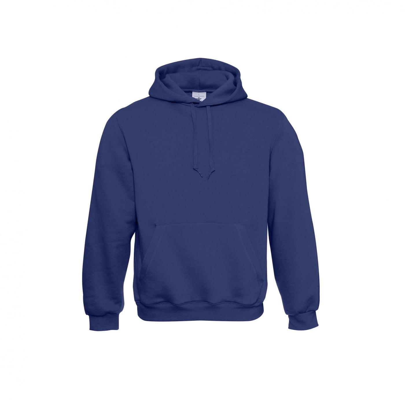 Bluzy - Klasyczna bluza Hooded - B&C WU620 - Electric Blue - RAVEN - koszulki reklamowe z nadrukiem, odzież reklamowa i gastronomiczna