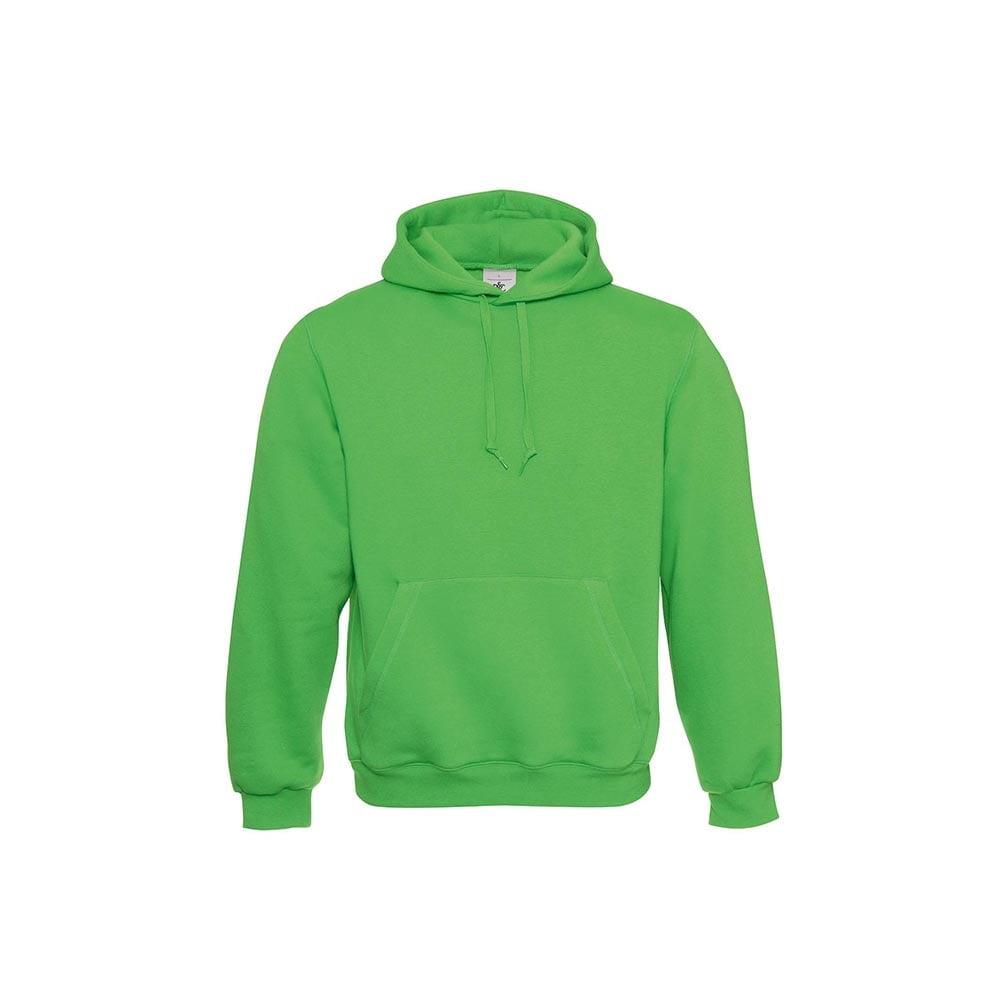 Bluzy - Klasyczna bluza Hooded - B&C WU620 - Kelly Green  - RAVEN - koszulki reklamowe z nadrukiem, odzież reklamowa i gastronomiczna