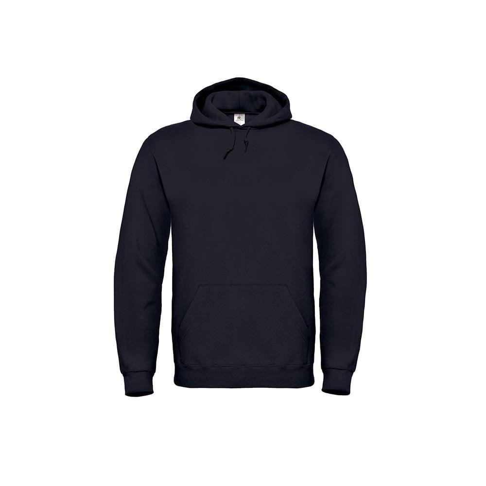 Bluzy - Bluza z kapturem ID.003 - B&C WUI21 - Black - RAVEN - koszulki reklamowe z nadrukiem, odzież reklamowa i gastronomiczna