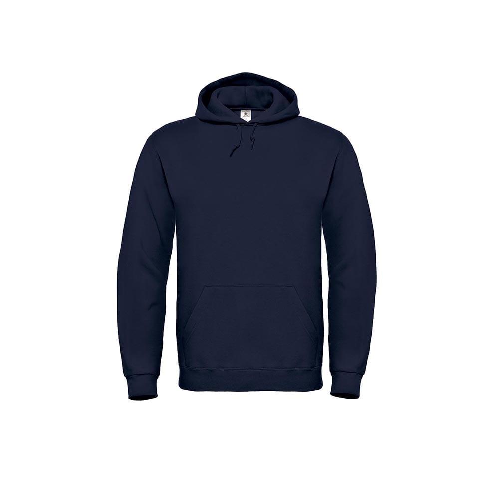 Bluzy - Bluza z kapturem ID.003 - B&C WUI21 - Navy - RAVEN - koszulki reklamowe z nadrukiem, odzież reklamowa i gastronomiczna