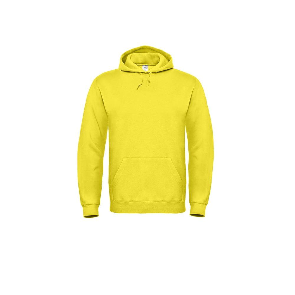 Bluzy - Bluza z kapturem ID.003 - B&C WUI21 - Solar Yellow - RAVEN - koszulki reklamowe z nadrukiem, odzież reklamowa i gastronomiczna