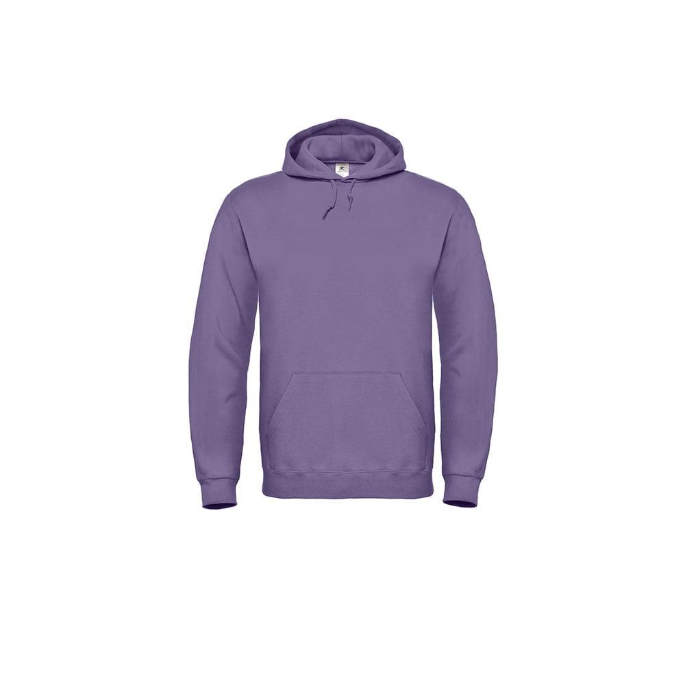 Bluzy - Bluza z kapturem ID.003 - B&C WUI21 - Millennial Lilac - RAVEN - koszulki reklamowe z nadrukiem, odzież reklamowa i gastronomiczna