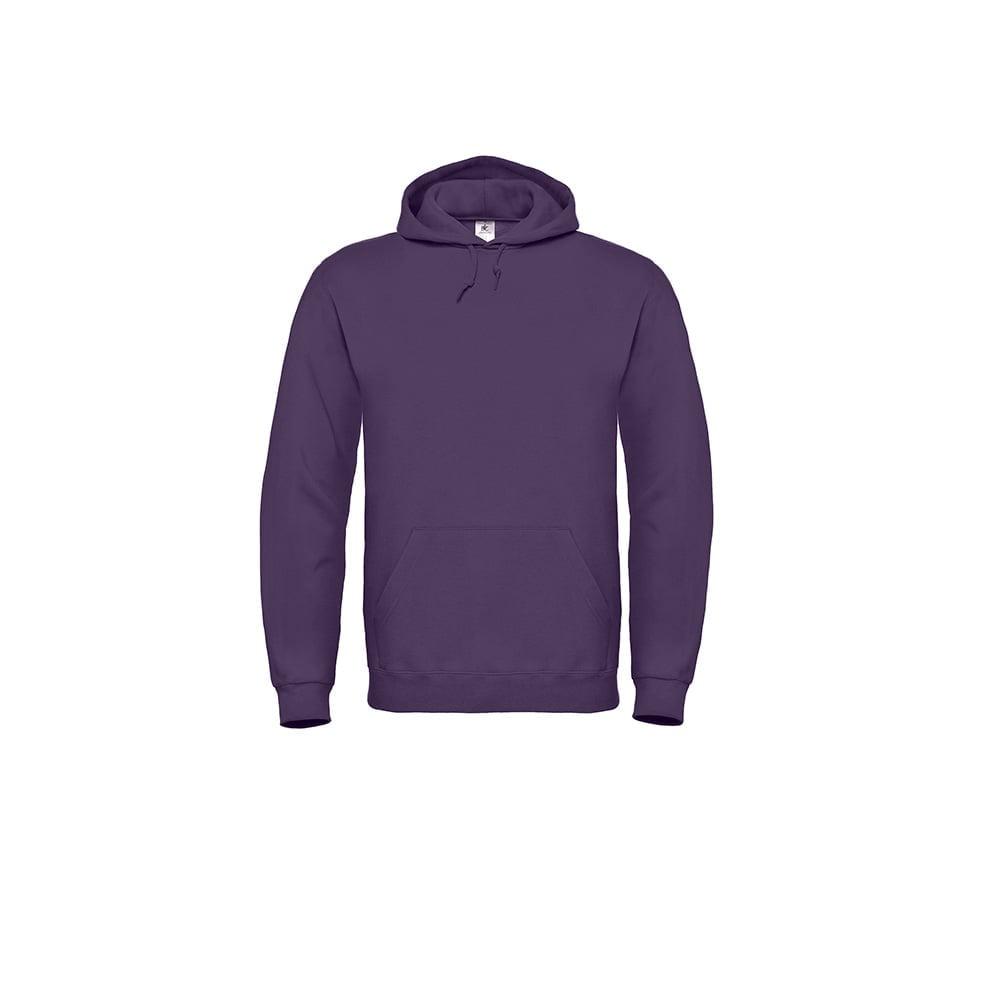 Bluzy - Bluza z kapturem ID.003 - B&C WUI21 - Radiant Purple - RAVEN - koszulki reklamowe z nadrukiem, odzież reklamowa i gastronomiczna