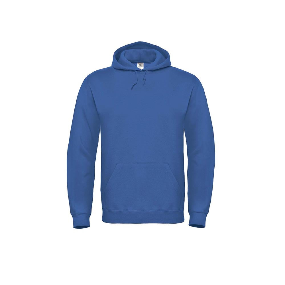 Bluzy - Bluza z kapturem ID.003 - B&C WUI21 - Royal Blue - RAVEN - koszulki reklamowe z nadrukiem, odzież reklamowa i gastronomiczna
