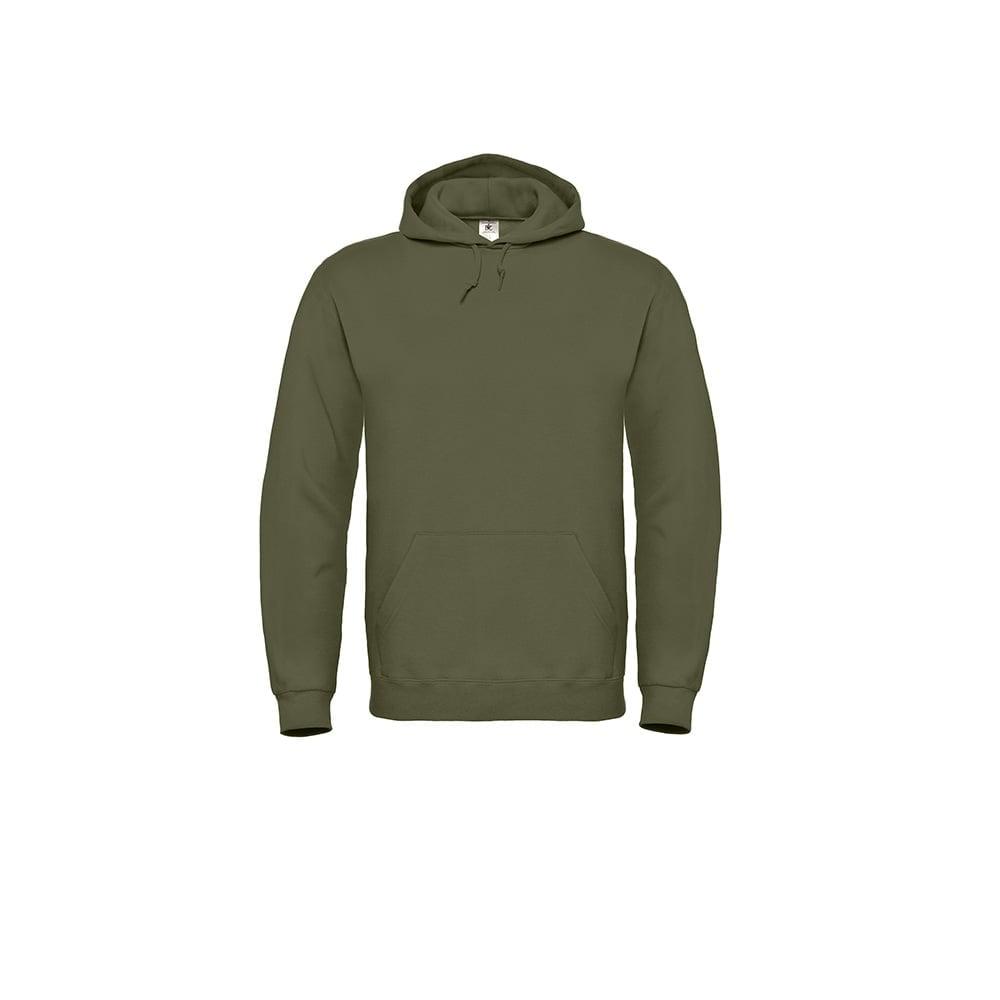 Bluzy - Bluza z kapturem ID.003 - B&C WUI21 - Urban Khaki - RAVEN - koszulki reklamowe z nadrukiem, odzież reklamowa i gastronomiczna