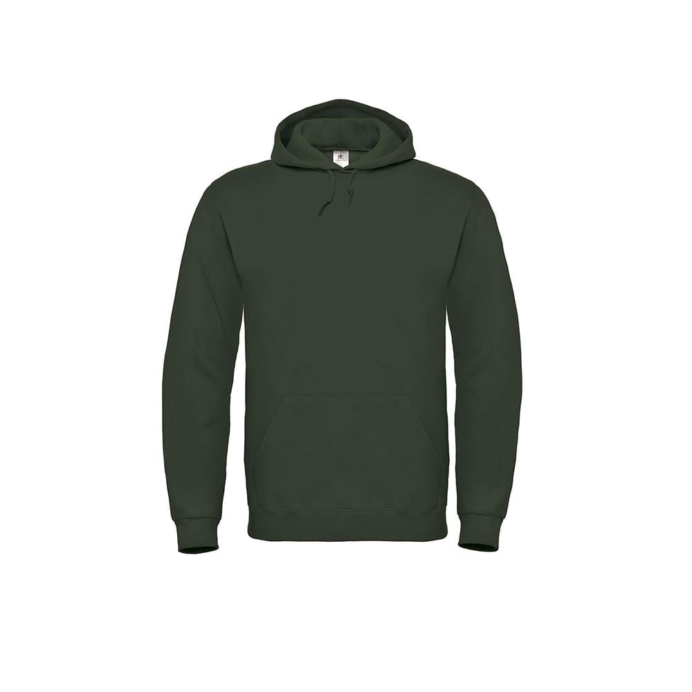 Bluzy - Bluza z kapturem ID.003 - B&C WUI21 - Forest Green - RAVEN - koszulki reklamowe z nadrukiem, odzież reklamowa i gastronomiczna