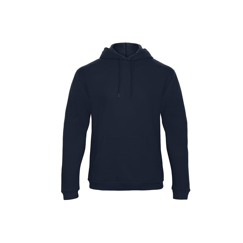 Bluzy - Bluza z kapturem ID.203 - B&C WUI24 - Navy - RAVEN - koszulki reklamowe z nadrukiem, odzież reklamowa i gastronomiczna