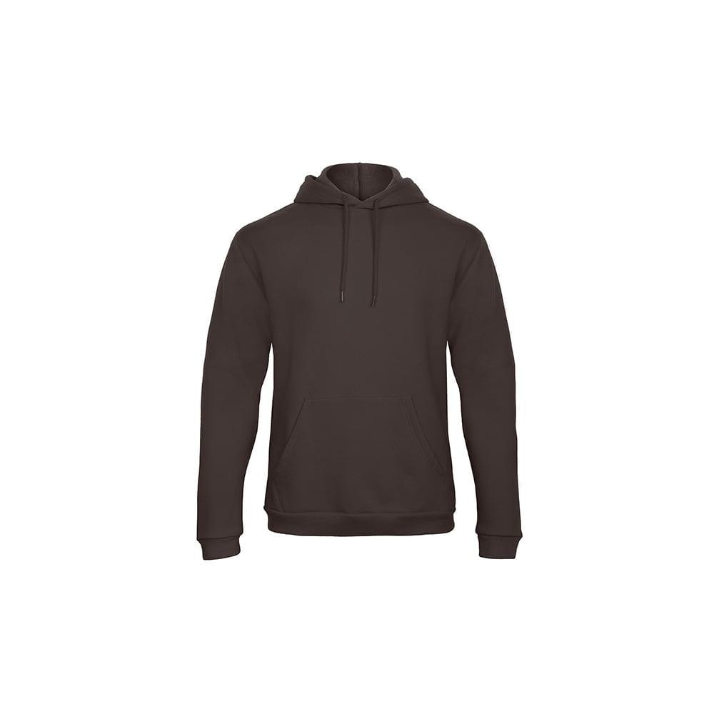 Bluzy - Bluza z kapturem ID.203 - B&C WUI24 - Brown - RAVEN - koszulki reklamowe z nadrukiem, odzież reklamowa i gastronomiczna