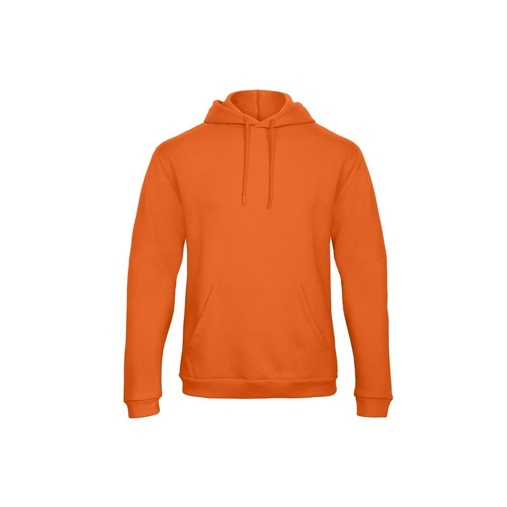 Bluzy - Bluza z kapturem ID.203 - B&C WUI24 - Pumpkin Orange - RAVEN - koszulki reklamowe z nadrukiem, odzież reklamowa i gastronomiczna