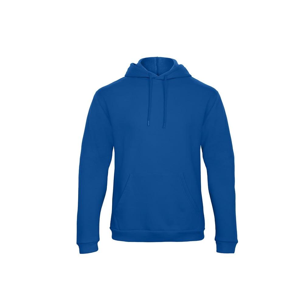 Bluzy - Bluza z kapturem ID.203 - B&C WUI24 - Royal Blue - RAVEN - koszulki reklamowe z nadrukiem, odzież reklamowa i gastronomiczna