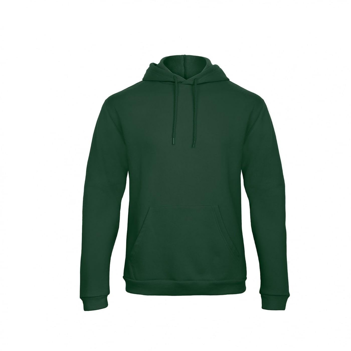 Bluzy - Bluza z kapturem ID.203 - B&C WUI24 - Bottle Green - RAVEN - koszulki reklamowe z nadrukiem, odzież reklamowa i gastronomiczna