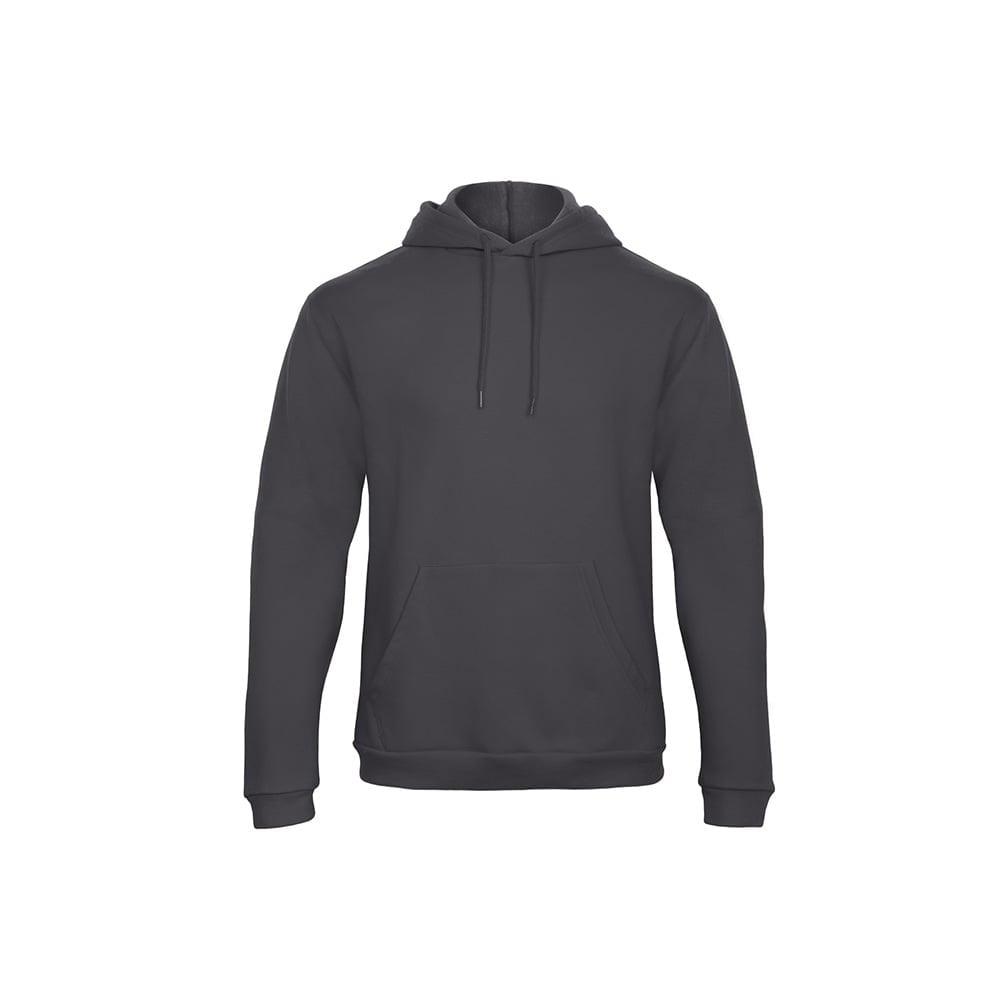 Bluzy - Bluza z kapturem ID.203 - B&C WUI24 - Anthracite - RAVEN - koszulki reklamowe z nadrukiem, odzież reklamowa i gastronomiczna