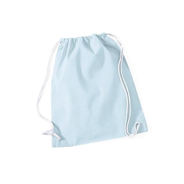 Torby i plecaki - Worek festiwalowy Cotton Gym - W110 - Pastel Blue - RAVEN - koszulki reklamowe z nadrukiem, odzież reklamowa i gastronomiczna