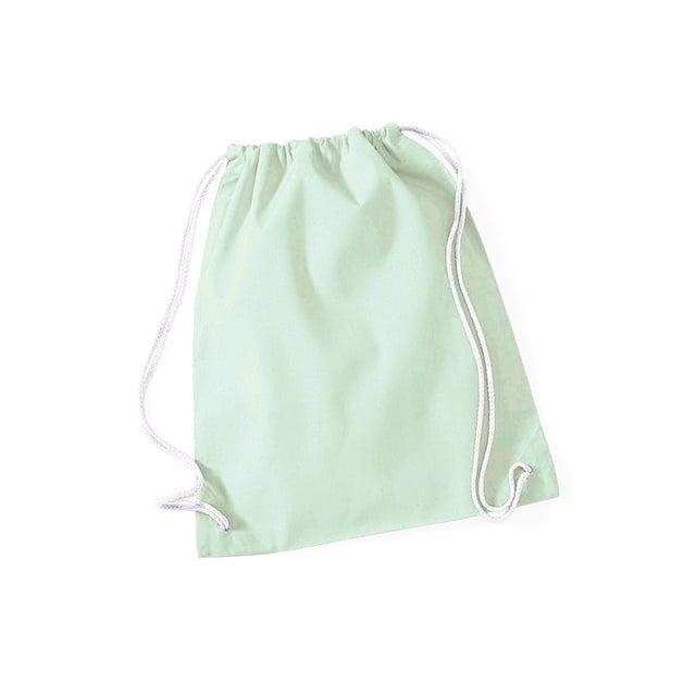 Torby i plecaki - Worek festiwalowy Cotton Gym - W110 - Pastel Mint - RAVEN - koszulki reklamowe z nadrukiem, odzież reklamowa i gastronomiczna