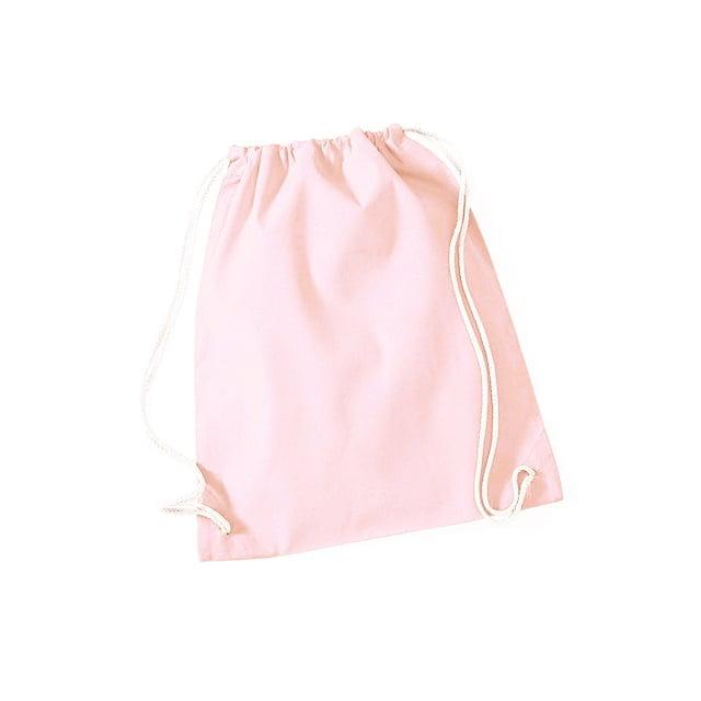 Torby i plecaki - Worek festiwalowy Cotton Gym - W110 - Pastel Pink - RAVEN - koszulki reklamowe z nadrukiem, odzież reklamowa i gastronomiczna