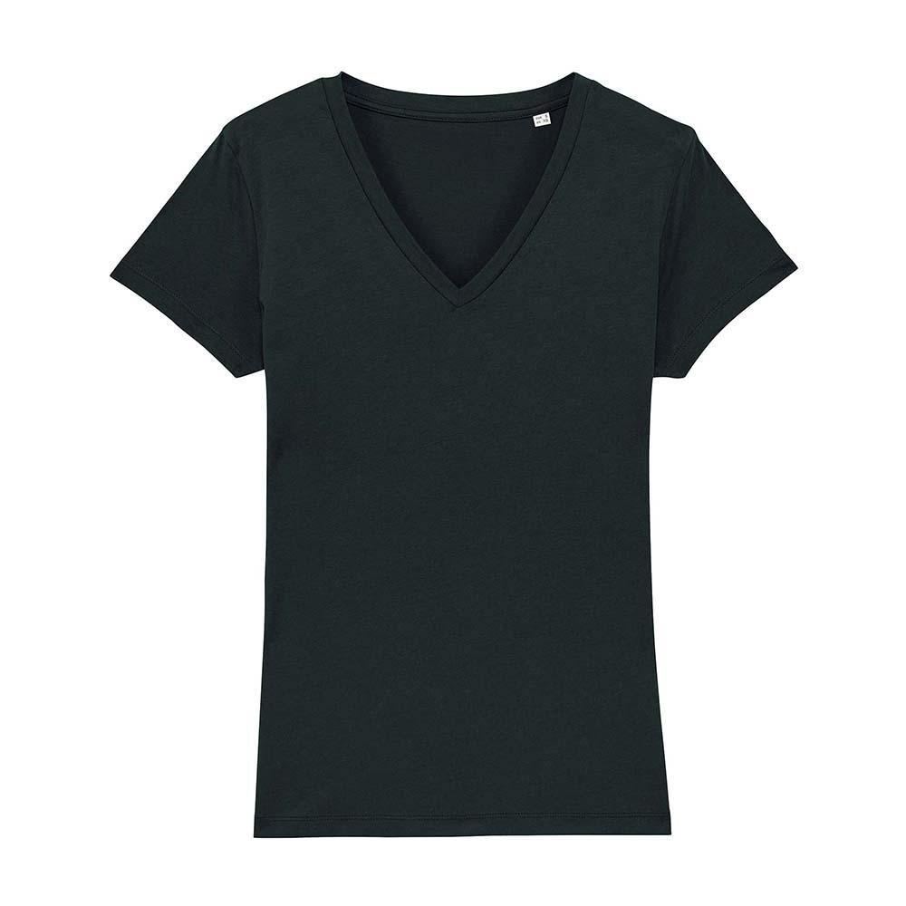 Koszulki T-Shirt - Damski T-shirt Stella Evoker - STTW023 - Black - RAVEN - koszulki reklamowe z nadrukiem, odzież reklamowa i gastronomiczna