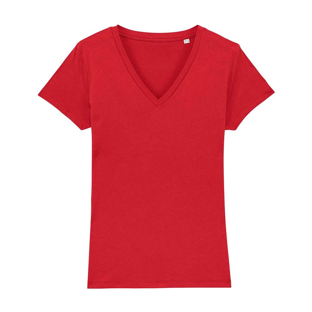 Koszulki T-Shirt - Damski T-shirt Stella Evoker - STTW023 - Red - RAVEN - koszulki reklamowe z nadrukiem, odzież reklamowa i gastronomiczna