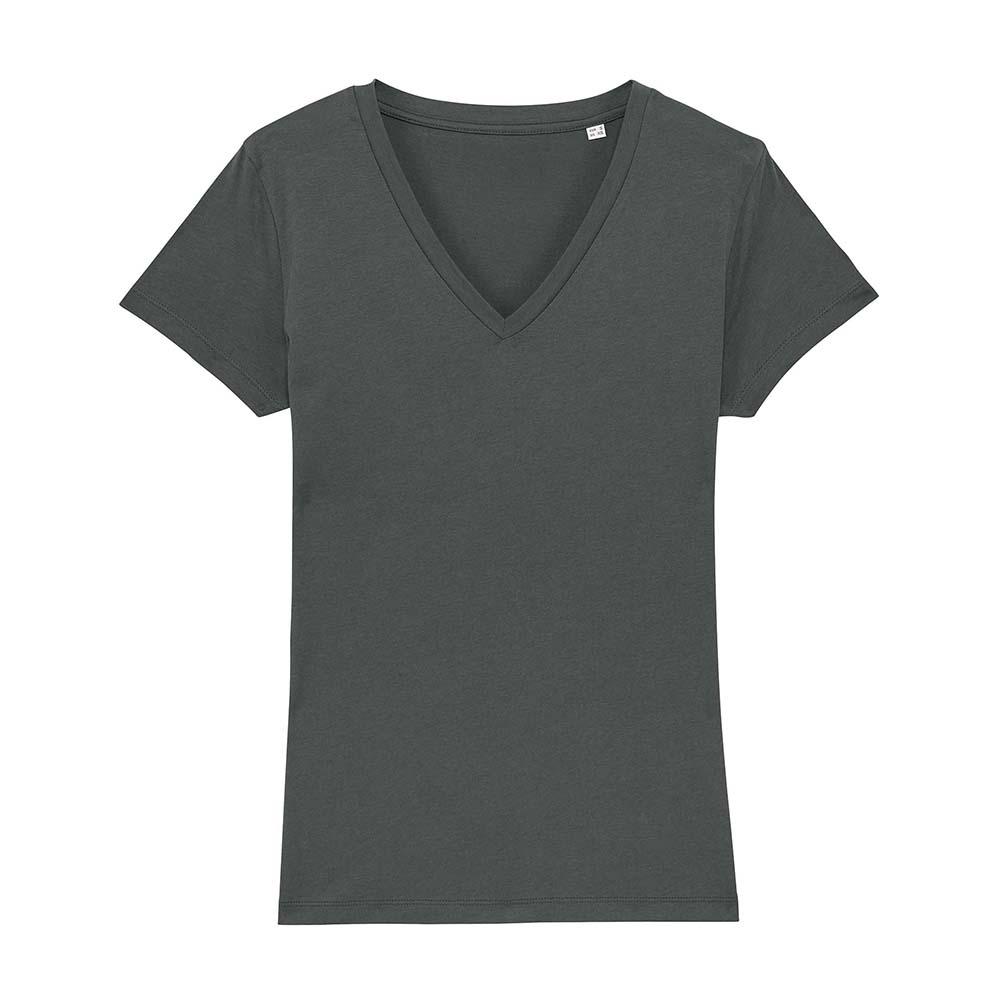 Koszulki T-Shirt - Damski T-shirt Stella Evoker - STTW023 - Anthracite - RAVEN - koszulki reklamowe z nadrukiem, odzież reklamowa i gastronomiczna