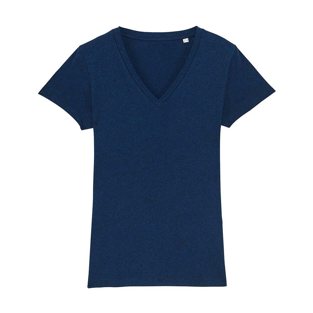 Koszulki T-Shirt - Damski T-shirt Stella Evoker - STTW023 - Black Heather Blue - RAVEN - koszulki reklamowe z nadrukiem, odzież reklamowa i gastronomiczna
