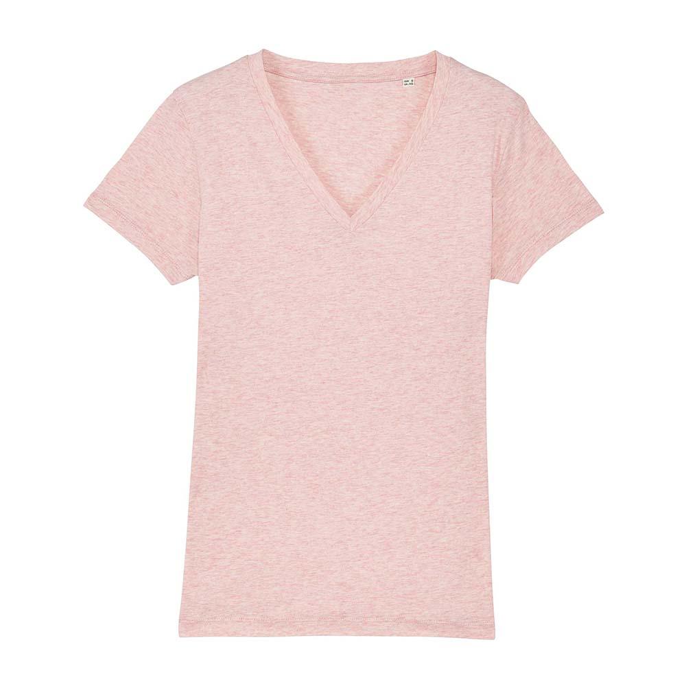 Koszulki T-Shirt - Damski T-shirt Stella Evoker - STTW023 - Cream Heather Pink - RAVEN - koszulki reklamowe z nadrukiem, odzież reklamowa i gastronomiczna