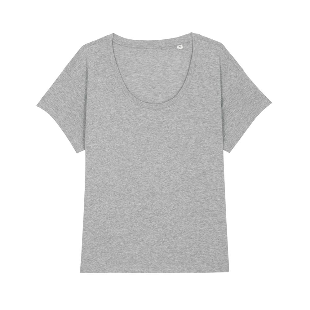 Koszulki T-Shirt - Damski t-shirt Stella Chiller - STTW036 - Heather Grey - RAVEN - koszulki reklamowe z nadrukiem, odzież reklamowa i gastronomiczna