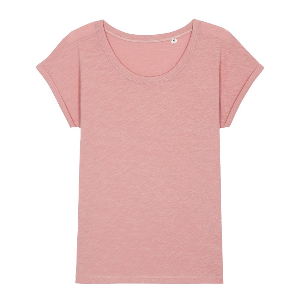 Damski T-shirt Stella Rounder Slub
