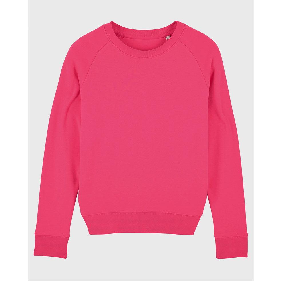 Bluzy - Damska Bluza Stella Tripster - STSW146 - Pink Punch - RAVEN - koszulki reklamowe z nadrukiem, odzież reklamowa i gastronomiczna