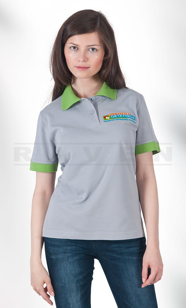PL 012 Koszulka Polo damska