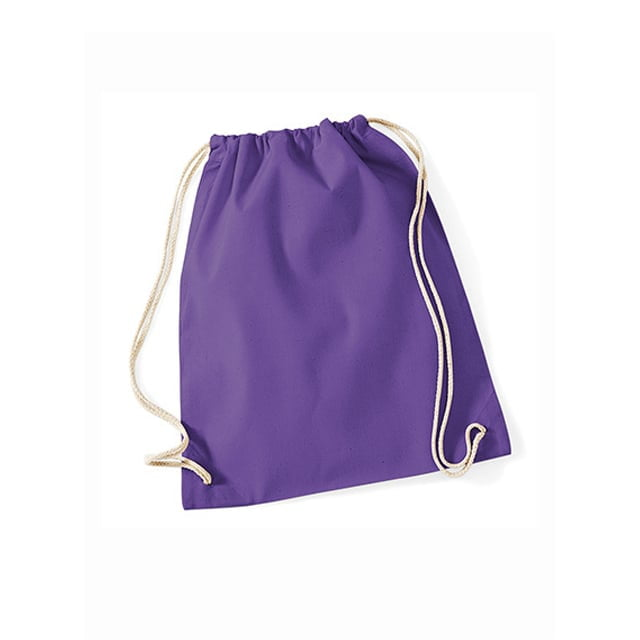Torby i plecaki - Worek festiwalowy Cotton Gym - W110 - Purple - RAVEN - koszulki reklamowe z nadrukiem, odzież reklamowa i gastronomiczna